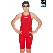 Arena Powerskin ST 2.0 Junior Kneeskin - Red