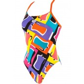 Arena Espresso One Piece - Black/Mango