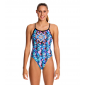 Funkita Tigress Girls Single Strap One Piece