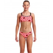 Funkita Black Sheep Girls Two Piece Criss Cross