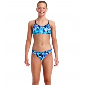 Funkita Crack Attack Girls Two Piece Racerback