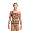 Funkita Go Safari Girls Single Strap One Piece