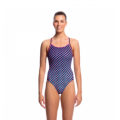 Funkita Miss Freckle Ladies Diamond Back One Piece