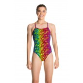 Funkita Mosaic Magic Girls Strapped In One Piece