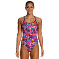 Funkita Petal Prism Ladies Diamond Back One Piece