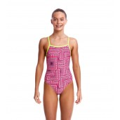 Funkita Swim Spin Girls Strapped In One Piece