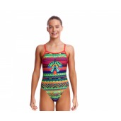 Funkita Wingspan Girls Single Strap One Piece