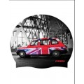 London Cab Printed Silicone Hat